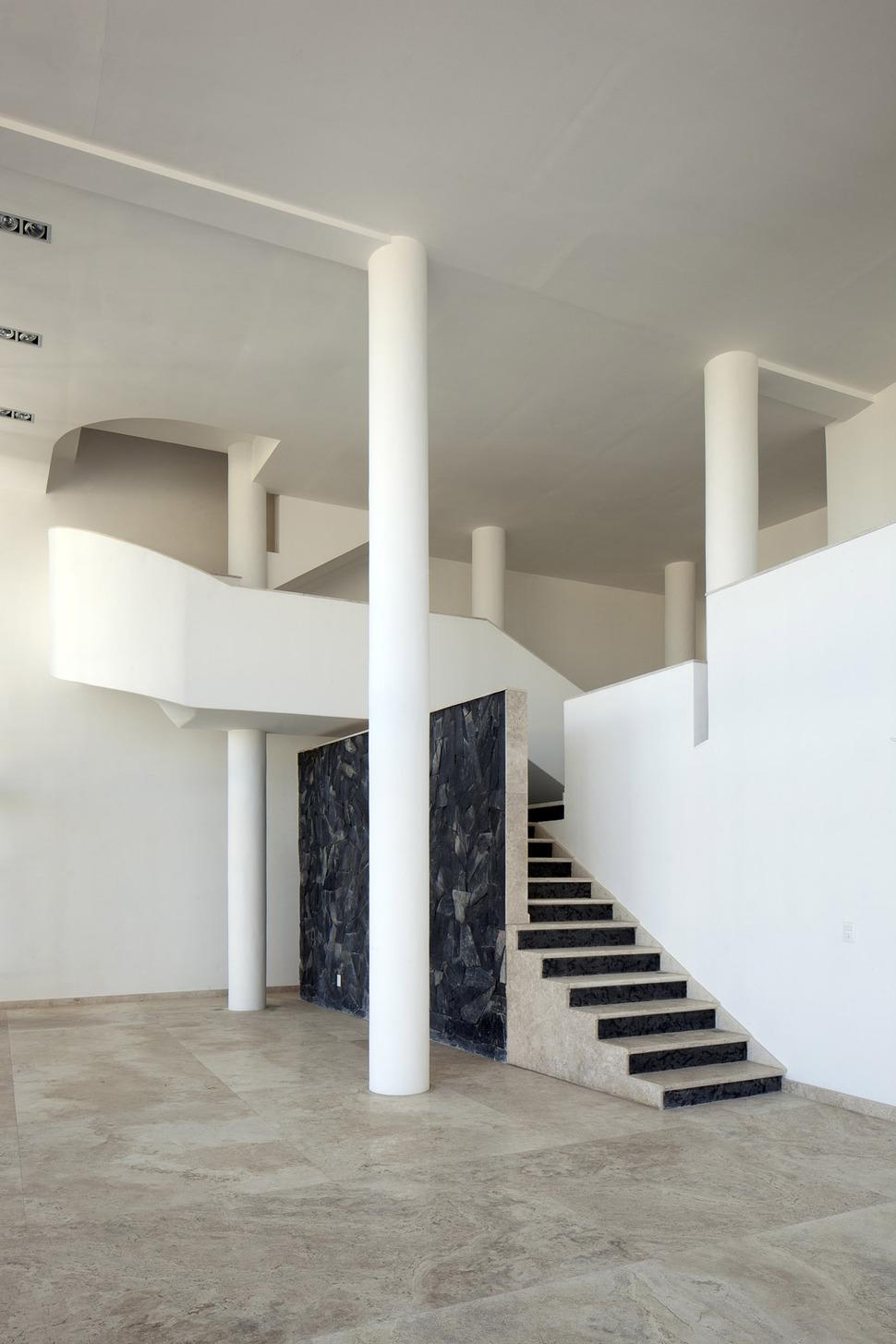 Modern Hacienda Style Home Built on Pillars