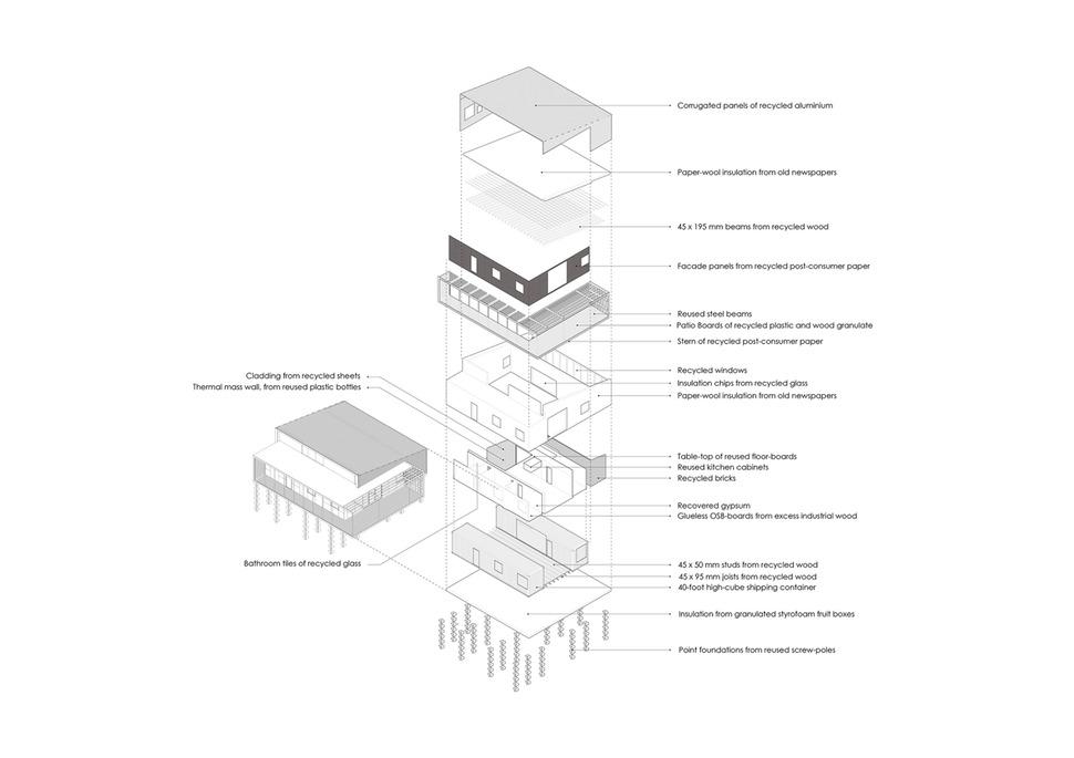 Green Modular Homes Floor Plans further Kit Bungalows further Tiny Home Designs Floor Plans likewise House plan maison model modele LAP0226VL besides Ecoshelta. on eco friendly prefabricated house