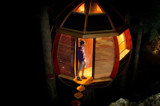 suspended-wooden-pod-cabin-built-around-tree-trunk-8-night-lit.jpg
