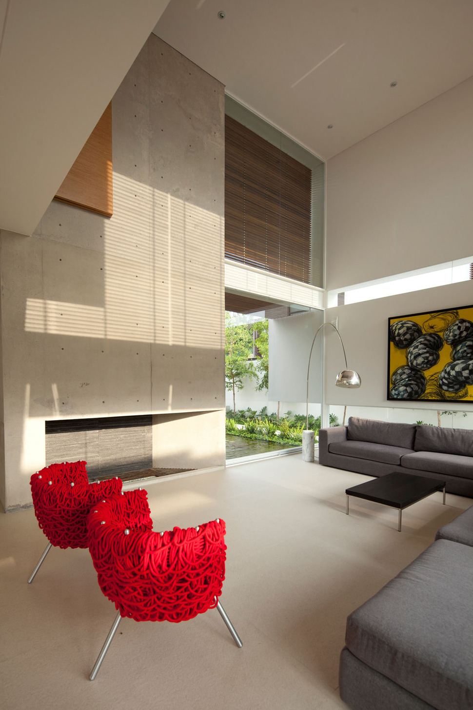 View in gallery t shaped contemporary mexican house 5 jpg