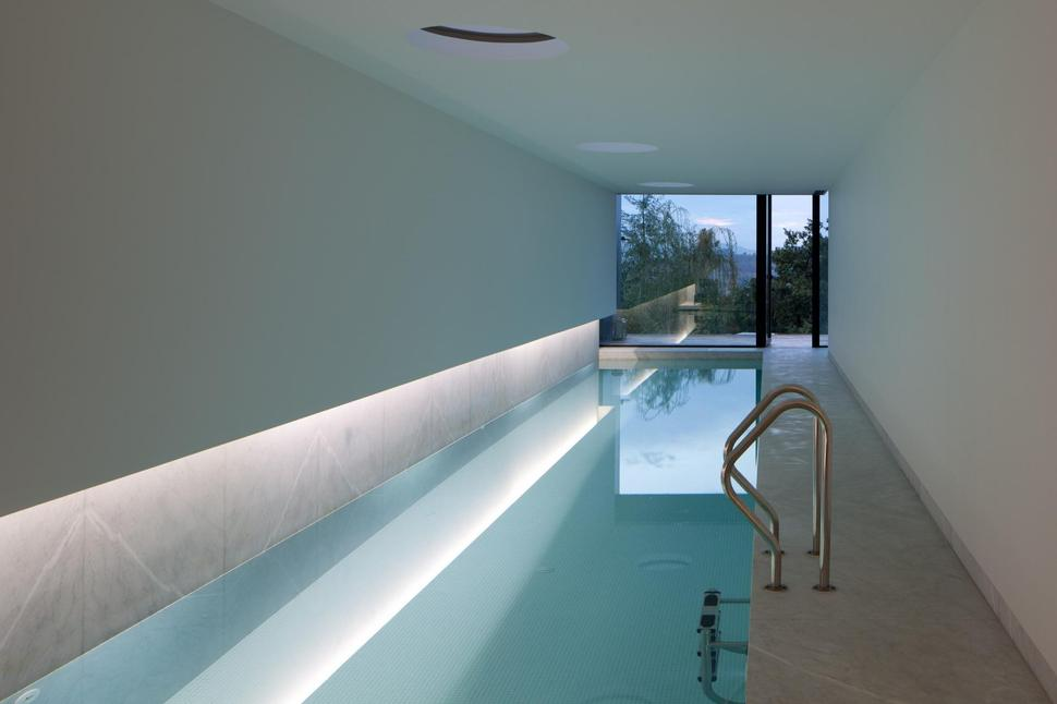 Home with an indoor lap pool - Design interior home with ease ...