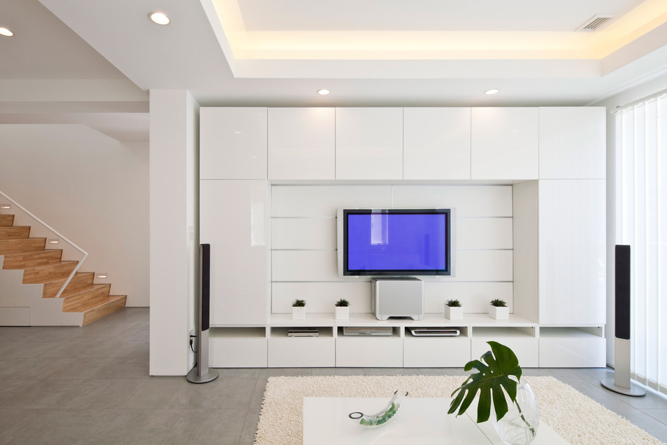 Zen Foyer Design : Compact zen home full of hidden meanings