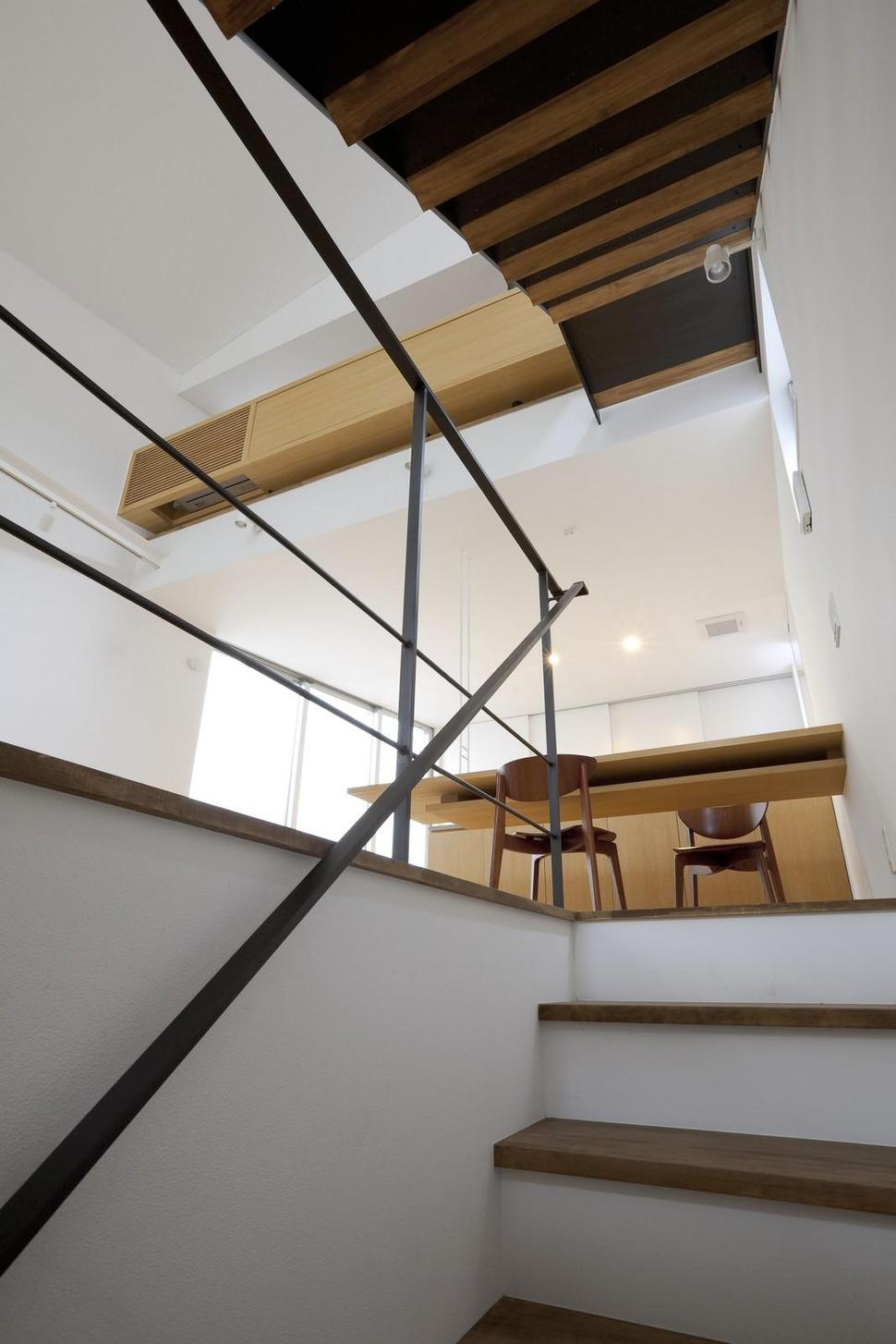 View in gallery japanese oh house wows with narrow footprint open