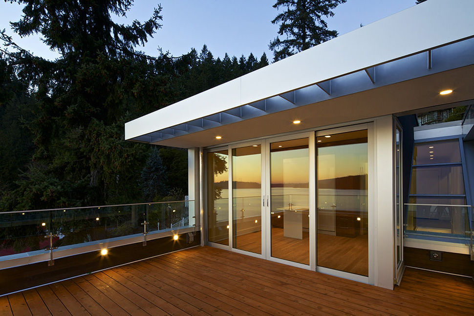 View in gallery modern cliff dwelling dock hugs steep mountainside 5 Modern Cliff Dwelling
