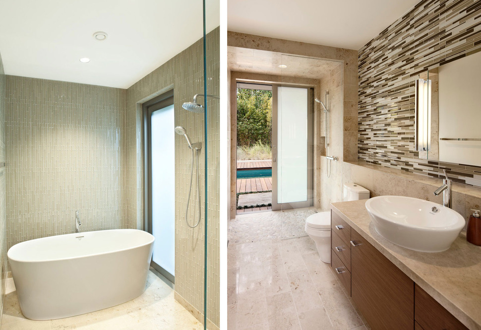 Platinum level leed home with pool house for Bathroom design leeds