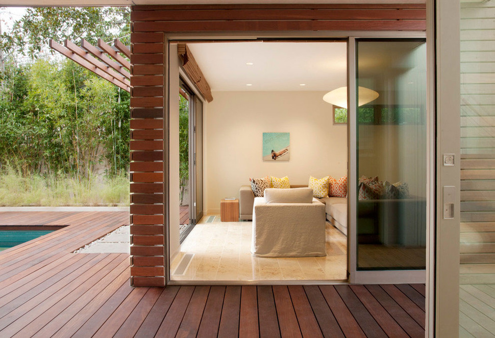 View In Gallery Platinum Level Leed House Roof Gardens Pool 25
