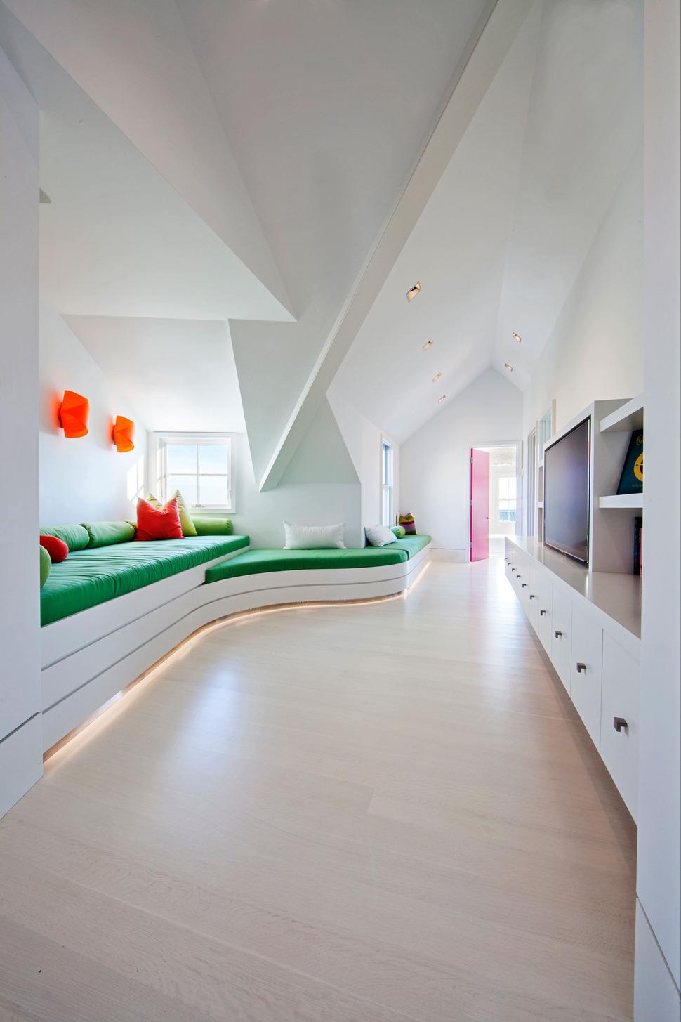 Rumpus Room Design Ideas Part - 21: View In Gallery Traditional-exterior-hides-colourfully-contemporary-interior -25-rumpusroom.