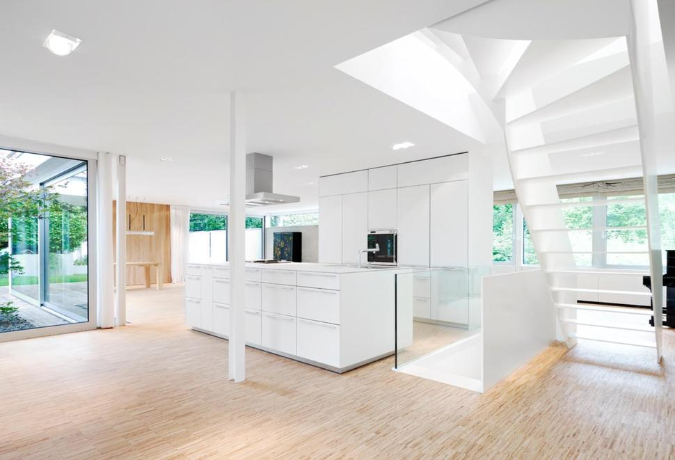 Contemporary Renovation And Additon To 60 S Bungalow