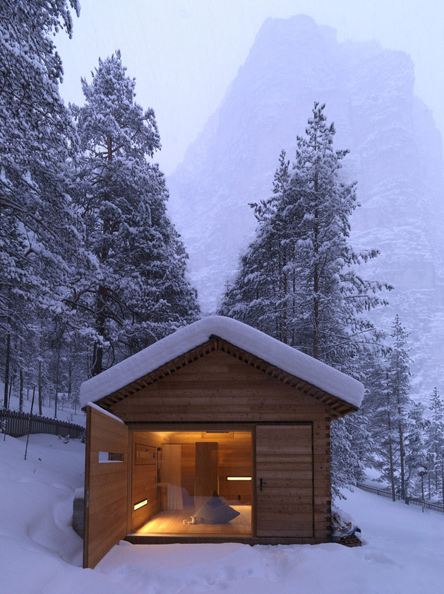 cozy mountain cabin can open to elements 1a thumb autox840 37977 Cozy Mountain Cabin can Open Up to the Elements