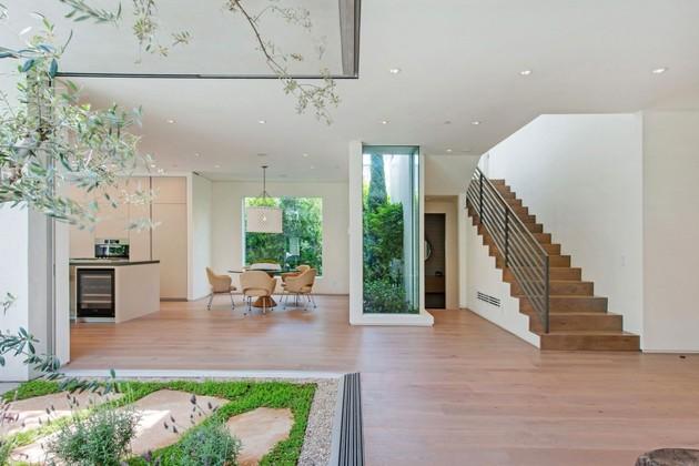 Luxurious Living Room Window Frame Cutouts
