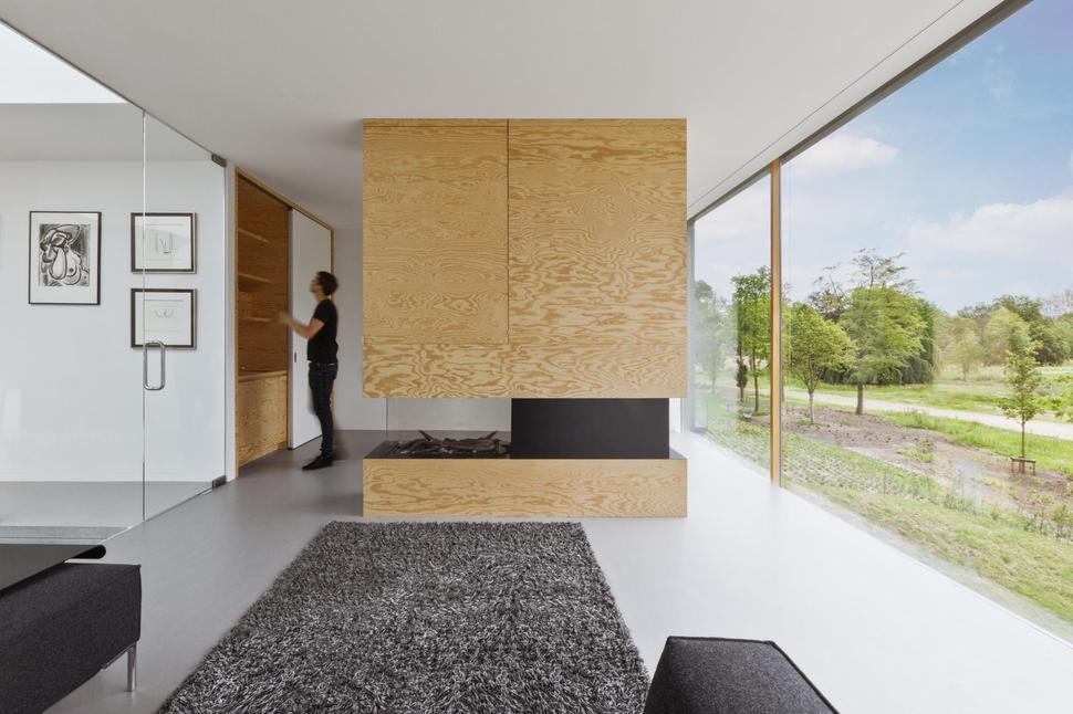 View In Gallery Minimalist Home Uses Pine Ply Design Elements 3  Part 96