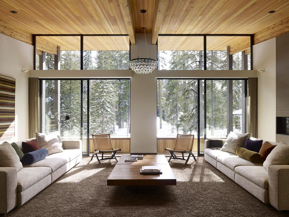 Nice View In Gallery Modern Mountain Home Railroad Avalanche Shed Design Muse