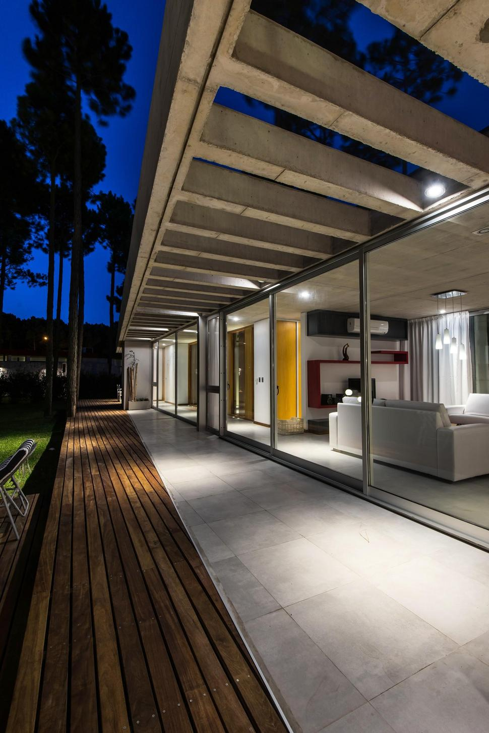 terrace lighting. View In Gallery House-built-focus-day-night-lighting-13-terrace. Terrace Lighting N