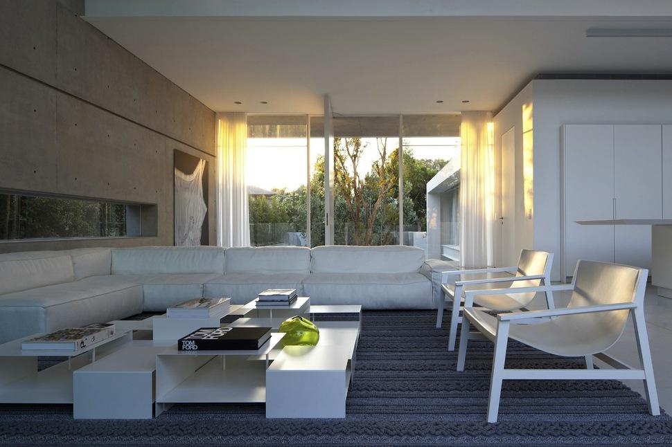 Minimal Style House minimal house with hangar-style rear facade