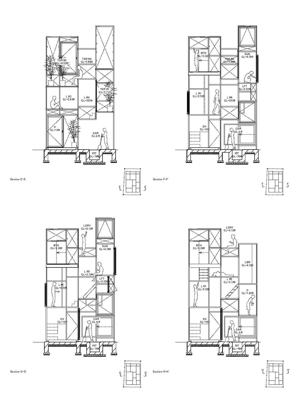 Urban Gl-Walled House With Platform Living Spaces on framing plans, narrow house layout, narrow house roof, narrow 3 story house, narrow house elevations, narrow cabinets, narrow home, narrow bedroom, narrow doors, narrow garden, narrow house interior design, narrow yard landscaping ideas, narrow kitchens, narrow lot house, narrow sink, narrow windows, narrow art, narrow beach house, narrow modern house, small lake lot plans,