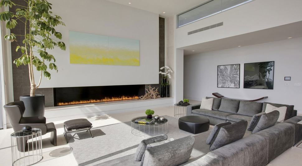 View In Gallery 70s Home Transformed Modern Masterpiece 5 Living