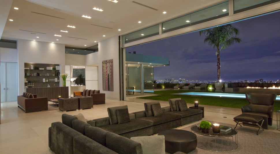 Delightful View In Gallery 70s Home Transformed Modern Masterpiece 8 Living Room