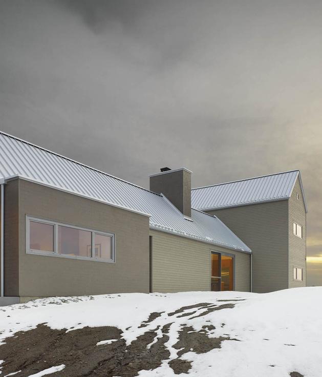 barn style home studio feature douglas fir ceilings trim 2 exterior thumb autox736 42575 Barn Style Home and Studio feature Douglas fir Ceilings and Trim