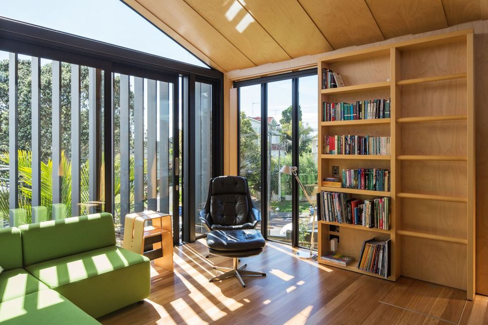 view in gallery house 3 glass gables faced operable louvers 27