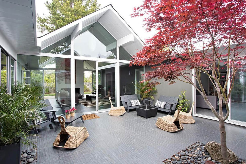 Enclosed Courtyard House Plan Best quotes House Designer kitchen