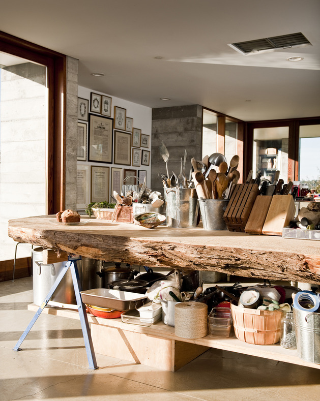 prefab-concrete-farmhouse-cypress-slab-table-salvaged-branch-crystal-chandelier-5-kitchen.jpg