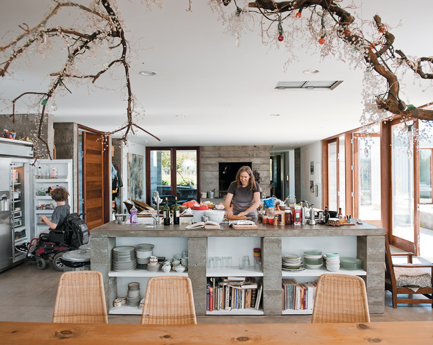 prefab-concrete-farmhouse-cypress-slab-table-salvaged-branch-crystal-chandelier-8-dining.jpg