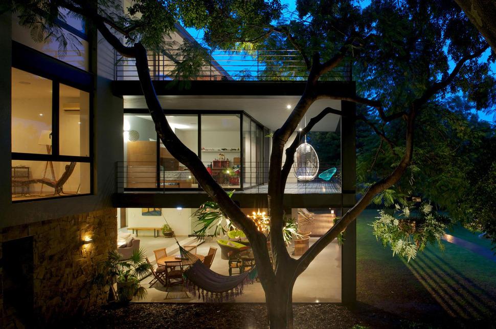 View in gallery indoor outdoor zones accentuated vertical gardens 14 side