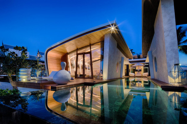 ultimate ultramodern seaside getaway villa with restaurant 2 bedroom wing thumb 630xauto 44262 Ultimate Ultramodern Seaside Getaway Villa With Restaurant