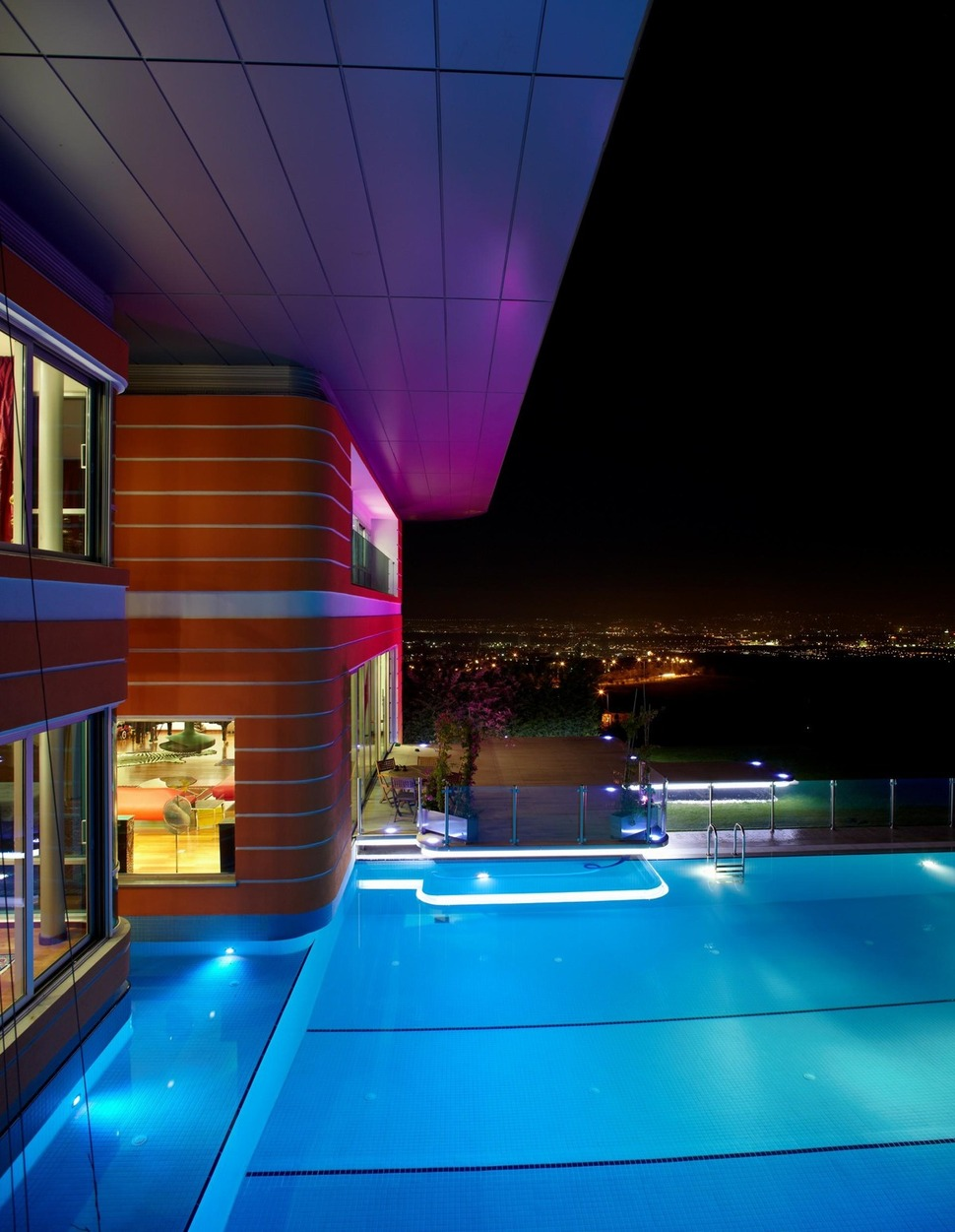 view modern house lights. View In Gallery Ultramodern-house-with-vibrant-lighting-design-focus-3- Modern House Lights