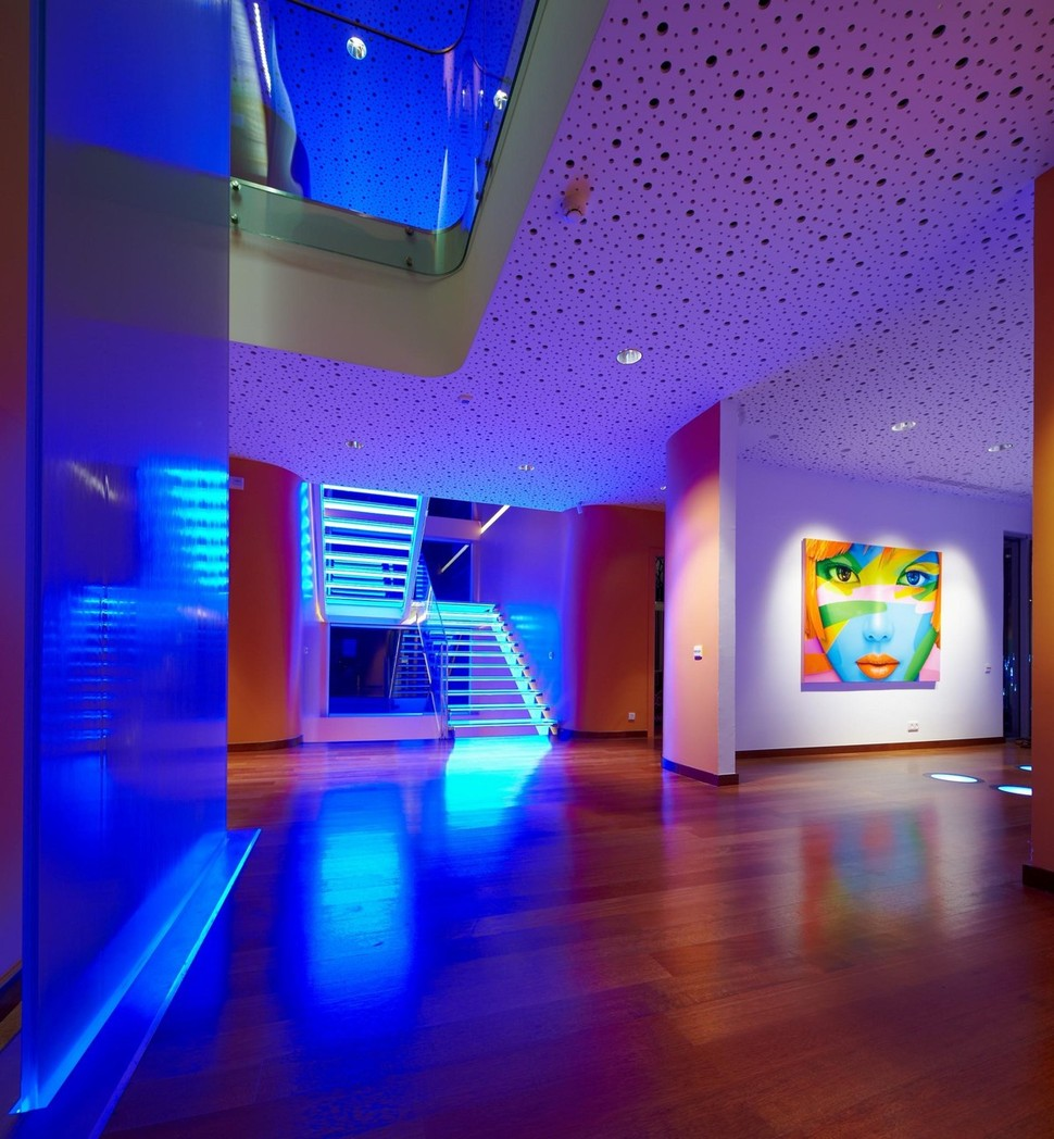 lighting in house. View In Gallery Ultramodern-house-with-vibrant-lighting-design-focus-9- Lighting House