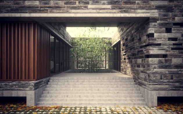 6-minimalist-homes-stacked-crisscrossed-masonry-volumes-7-courtyard.jpg