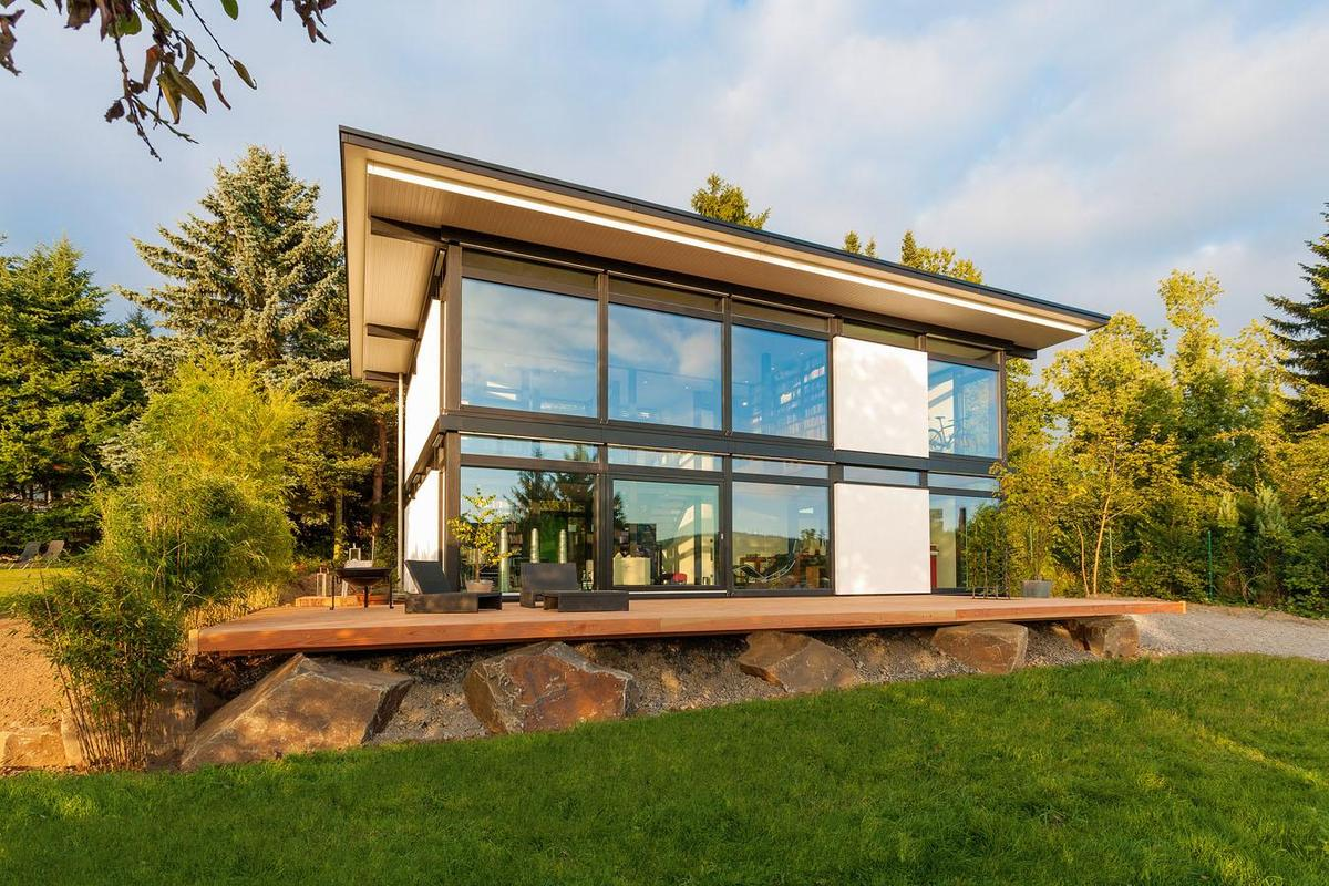 Huf Haus Modum New Prefab House Concept For Intelligent Timber