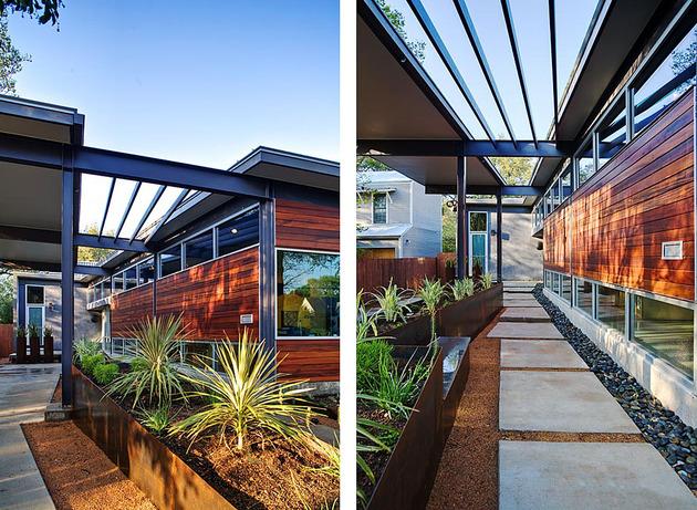 stylishly simple modern 1 story house 2 thumb 630xauto 50185 Stylishly Simple Modern One Story House Design
