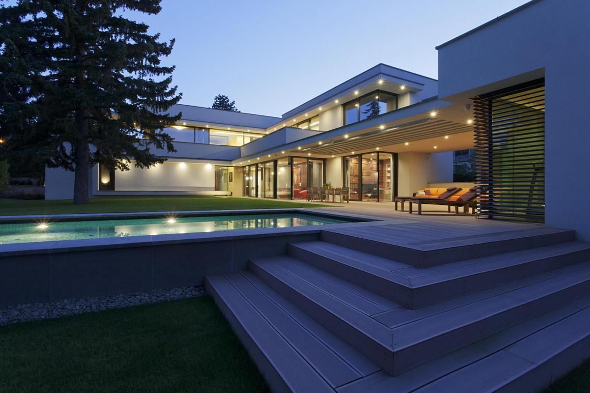 Modern Day Bauhaus Home is a Contemporary