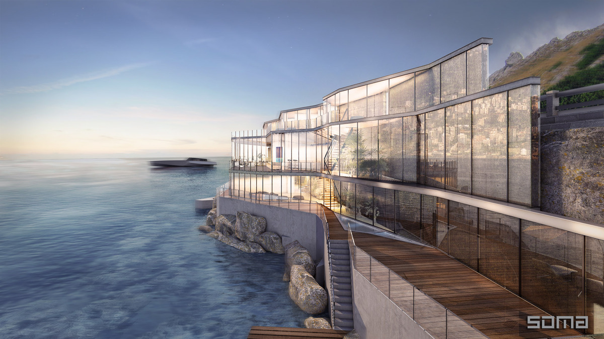 View In Gallery Amazing Glass Home On The Edge Of Sea And Rock 1 Thumb  630xauto 53662 Amazing Glass