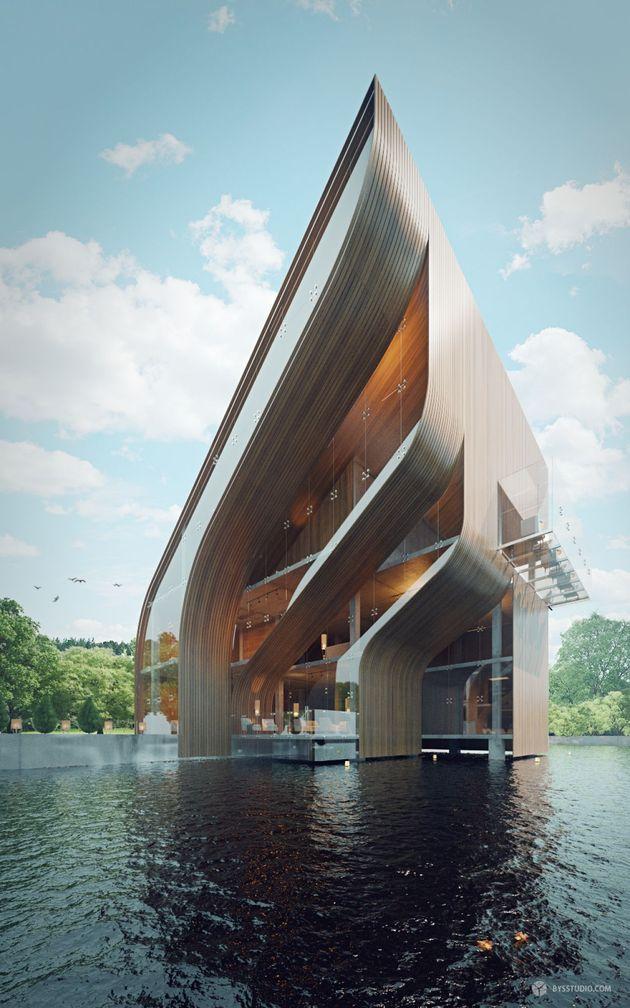 futuristic villa in miami 1 thumb autox1008 53811 Futuristic Villa in Miami