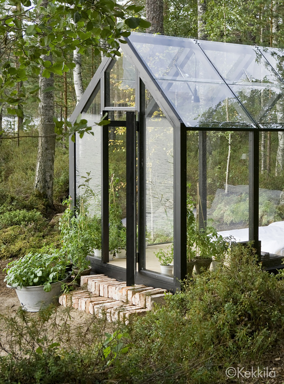 Combine Garden Shed and Green House Get a Fairytalelike Dwelling