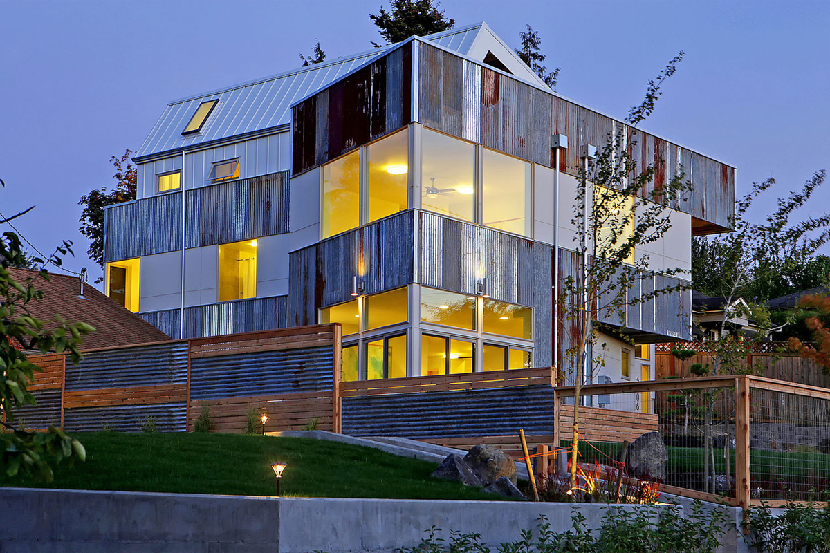 Unexpected Roof Design for Solar Panels in this Net Zero Home