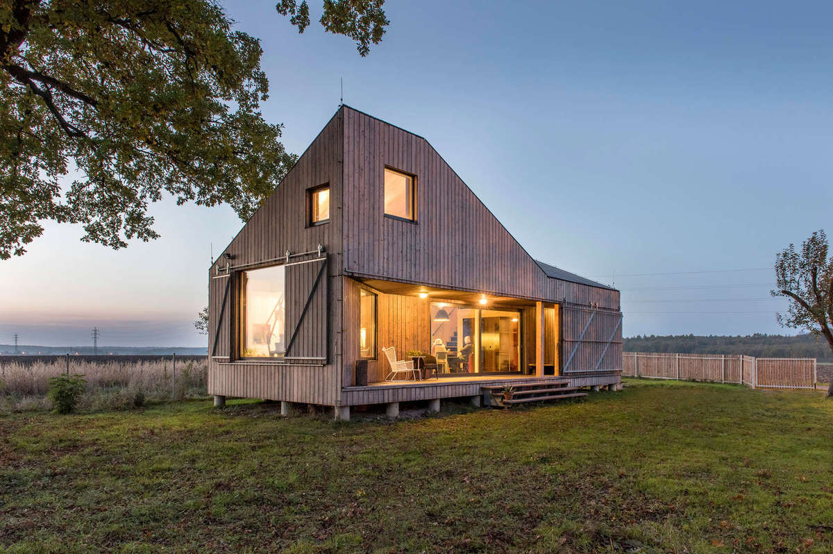 Low Energy Wooden House