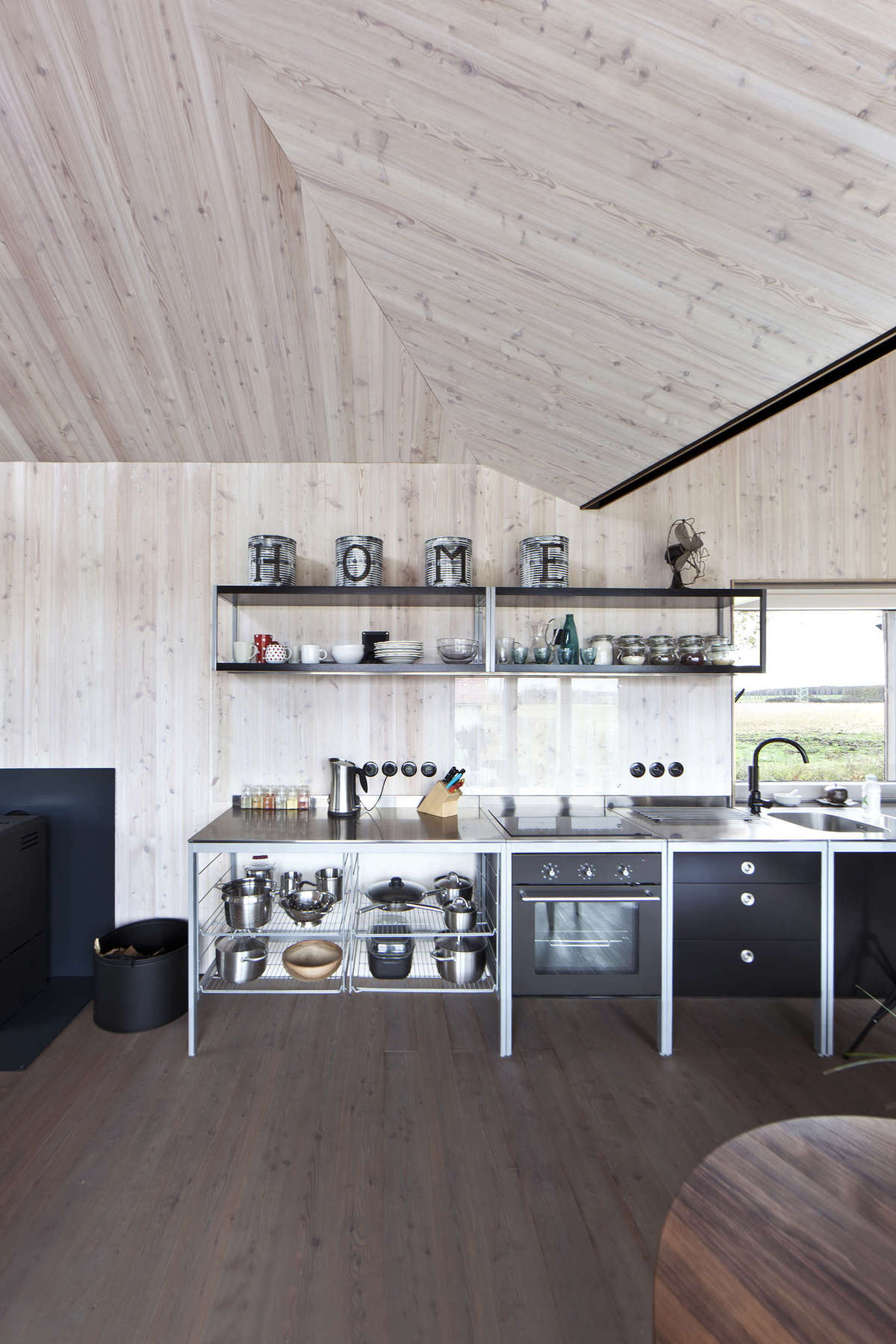 Low Energy Wooden House on
