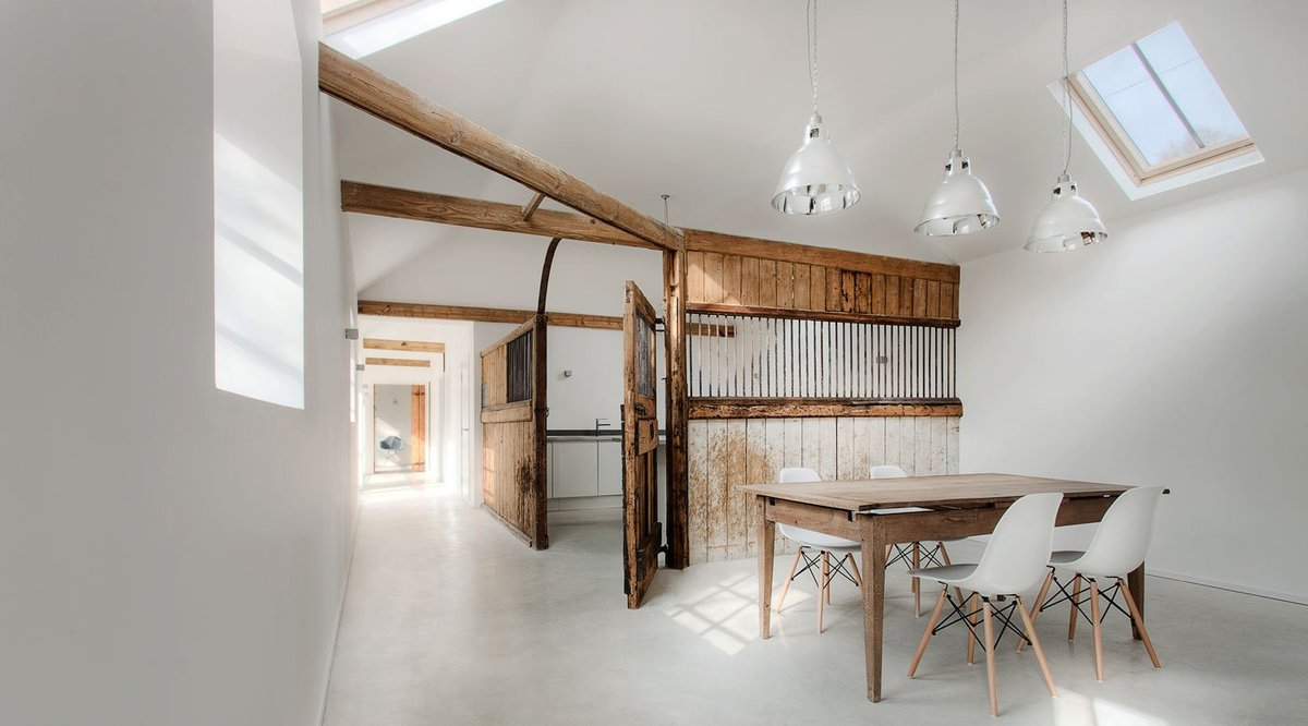 View In Gallery Barn Style House Stable Conversion Interior