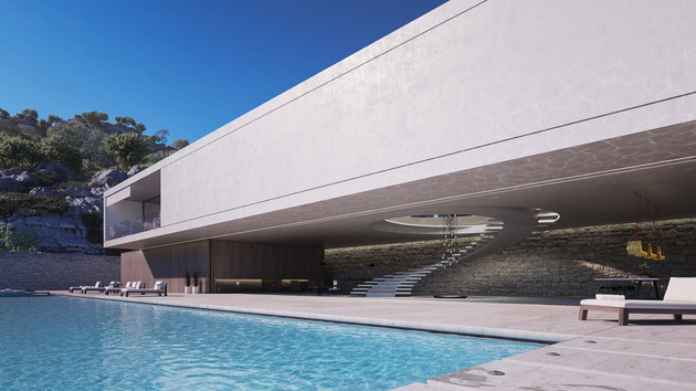 superhouse by agnus strom pool thumb 630xauto 57532 Superhouse Concept by Magnus Strom is Modern Lap of Luxury