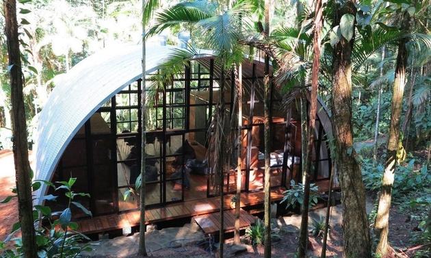 barrel roof dome prefab 1 thumb 630xauto 59308 Barrel Roof Prefab Made with Galvalume Sheet
