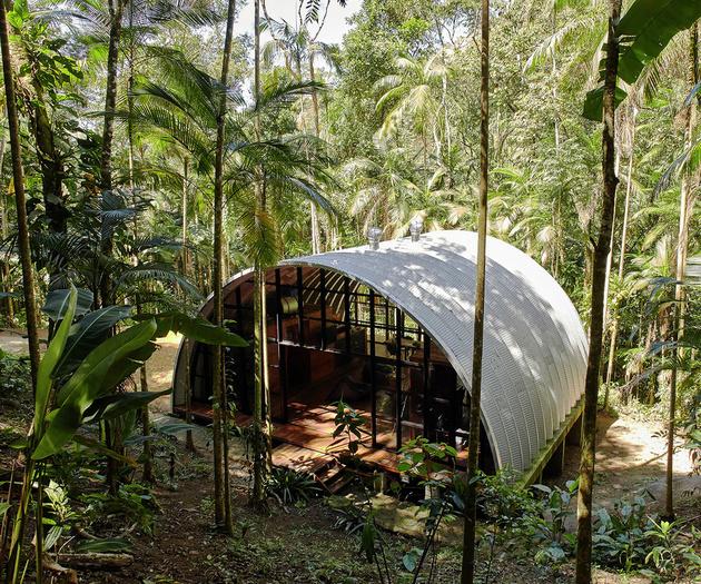 barrel roof dome prefab 2 thumb 630xauto 59310 Barrel Roof Prefab Made with Galvalume Sheet