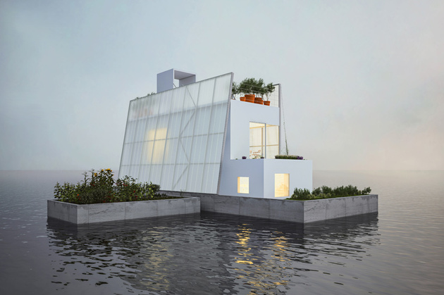 floating architecture carl turner thumb 630xauto 57739 Floating House Architecture: 12 Wow Designs on the Water
