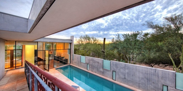modern desert home steven holl lap 2b thumb 630xauto 58448 For Sale in Arizona: Modern Desert Home by Renowned Architect Steven Holl