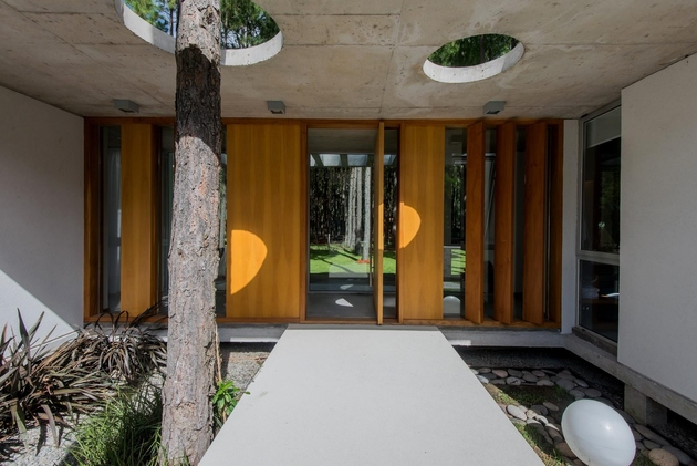 1a homes built existing trees 10 creative examples thumb 630xauto 60592 Homes Built Around Trees: 13 Creative Examples