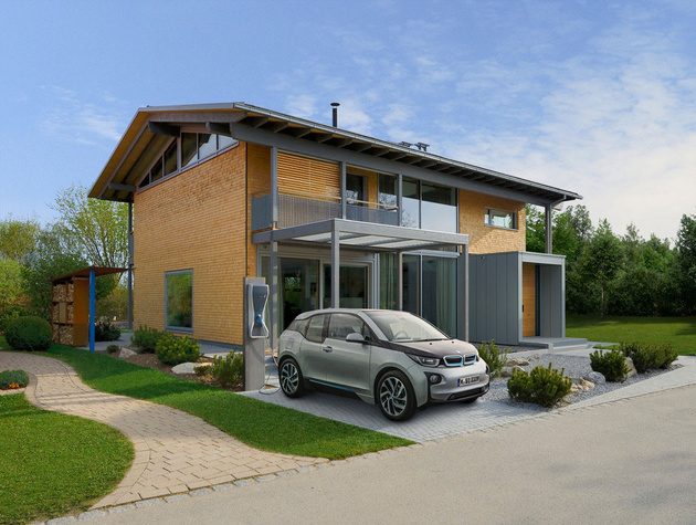 Smart house by baufritz first certified self sufficient home in germany - Self sufficient home designs ...