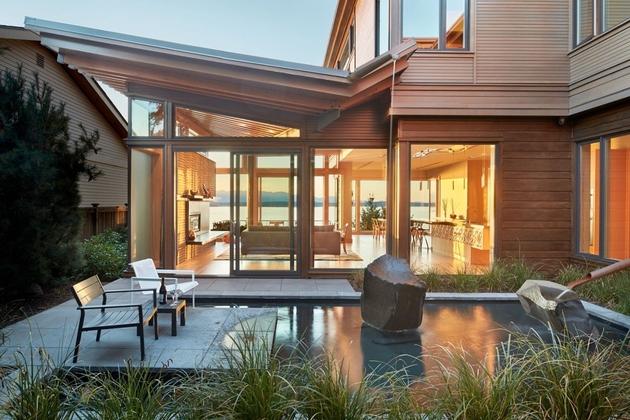 1 environmentally conscious waterfront home craftsmanship thumb 630xauto 63106 Environmentally Conscious Home Showcases Beautiful Craftsmanship