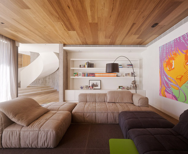 australia home design yarra 3 Contemporary Australian Home Architecture on Yarra River front, Melbourne